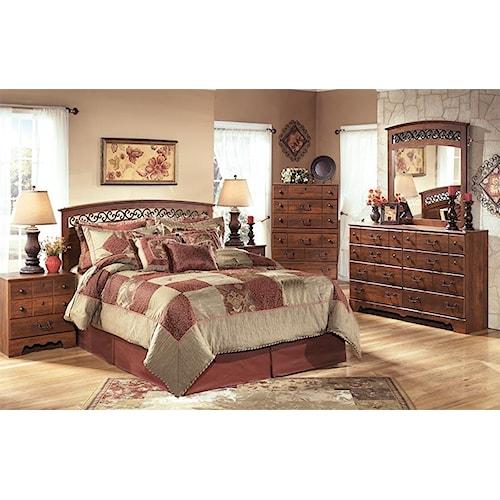 Signature Design by Ashley Pine Ridge 3pc Bedroom Set