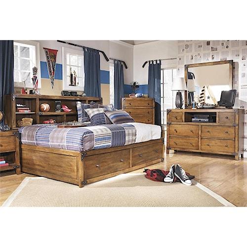 Signature Design by Ashley Cole 3-Piece Full Storage Bedroom Set
