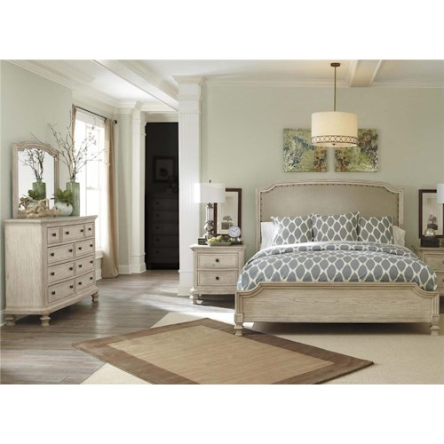 threshold width group products benchcraft by furniture ashley height item royal trim charmyn queen bedroom