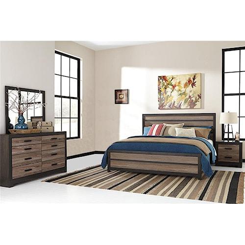 Signature Design by Ashley Harrington 4-Piece King Bedroom Set