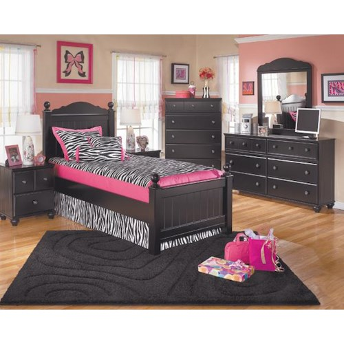 Signature Design by Ashley Jordan 3-Piece Twin Bedroom Set