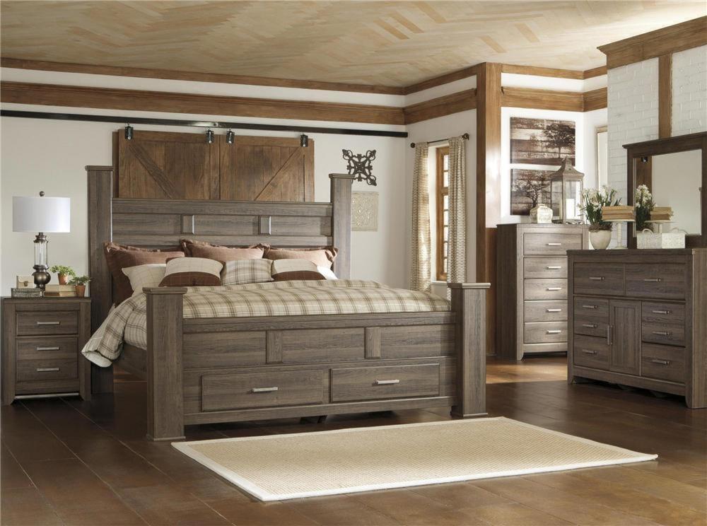 Bedroom Sets Ri signature designashley sawyer 4pc queen storage bedroom set