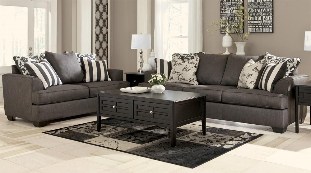 Living Room Sets Boston Ma signature designashley central park sofa & loveseat set