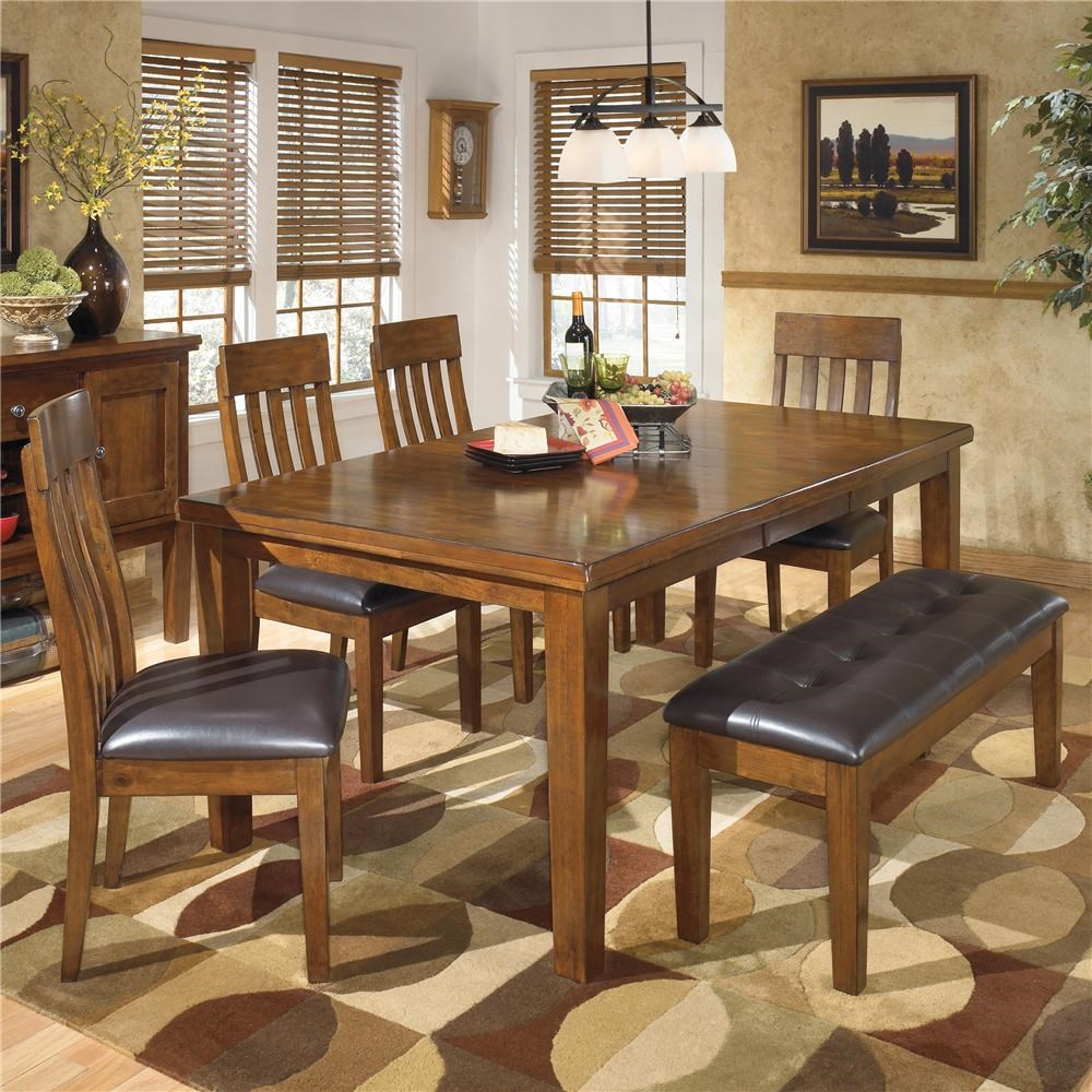 Merveilleux Signature Design By Ashley Ralene6Pc Dining Room ...