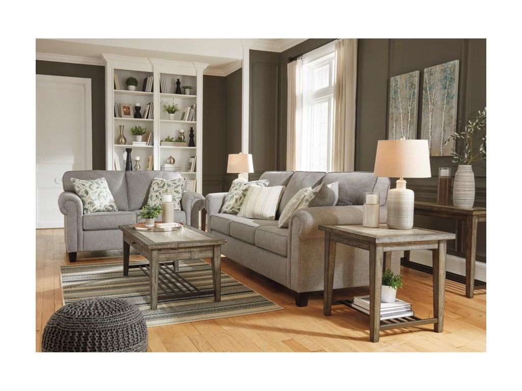 (Up to 40% OFF sale price) Collection # 3 AlandariStationary Living Room Group