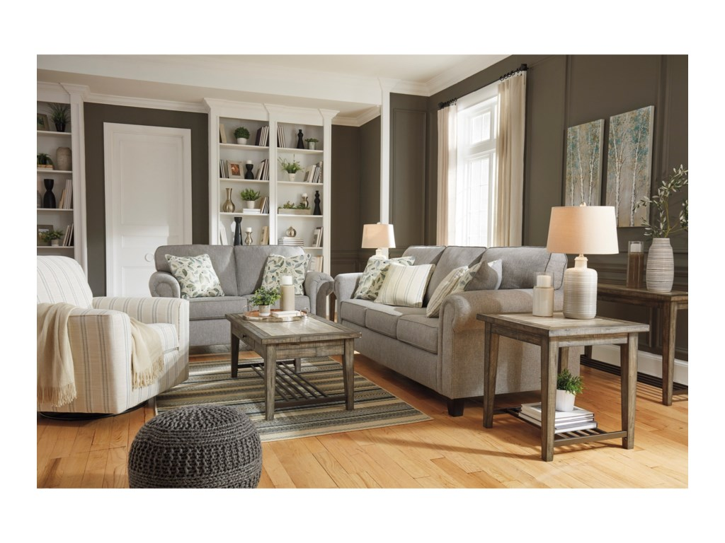 Signature Design by Ashley AlandariStationary Living Room Group