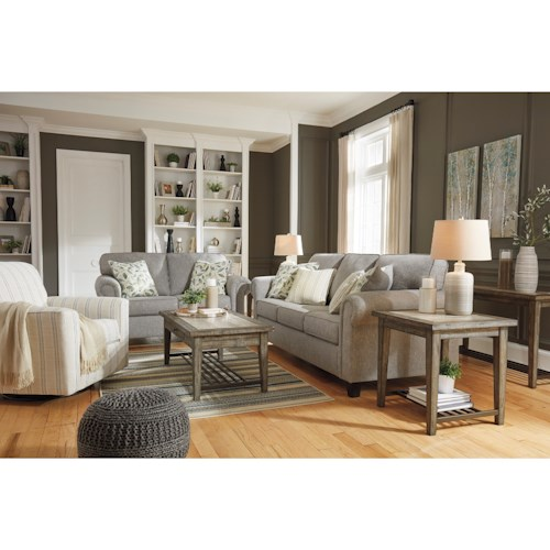 Signature Design by Ashley Alandari Stationary Living Room Group