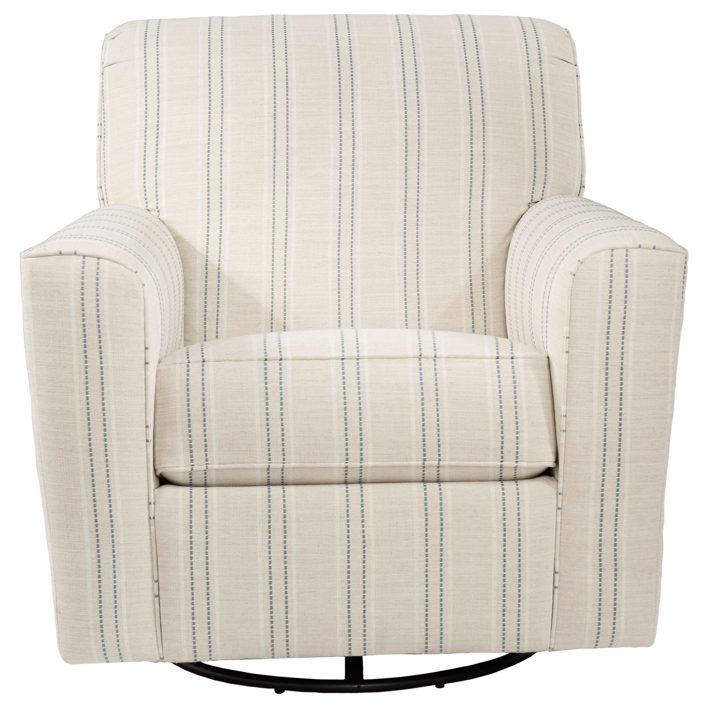 Picture of: Signature Design By Ashley Alandari Transitional Accent Chair With Swivel Glider Godby Home Furnishings Upholstered Chairs