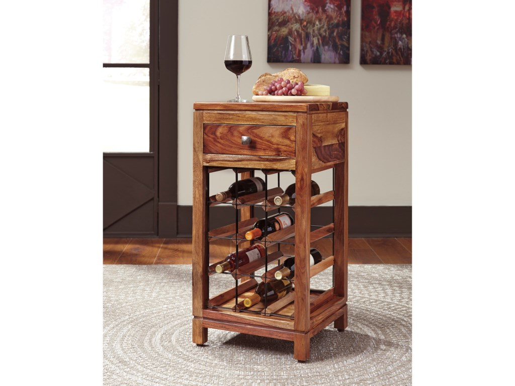 Ashley Signature Design AbbontoWine Cabinet