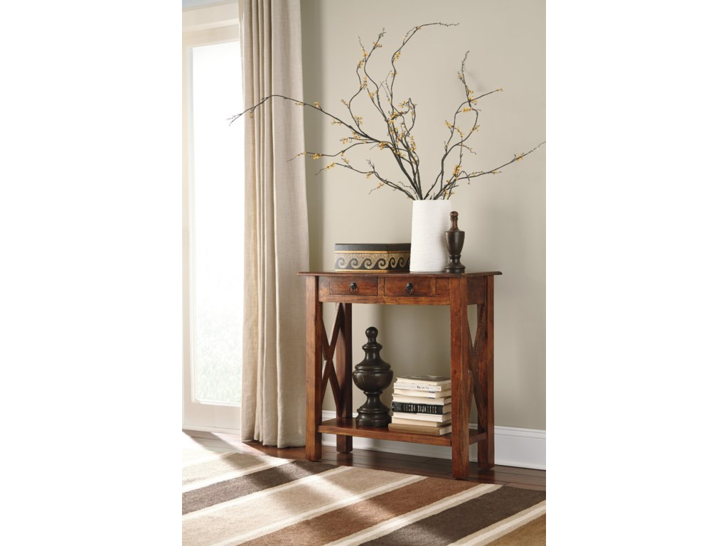 Signature Design by Ashley AbbontoConsole Sofa Table