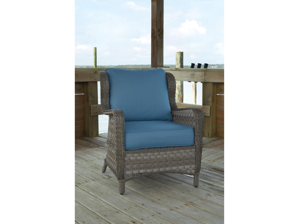 Signature Design by Ashley Abbots CourtOutdoor Lounge Chair w/ Cushion