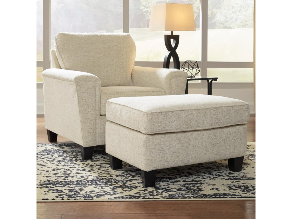 Signature Design by Ashley AbingerChair & Ottoman