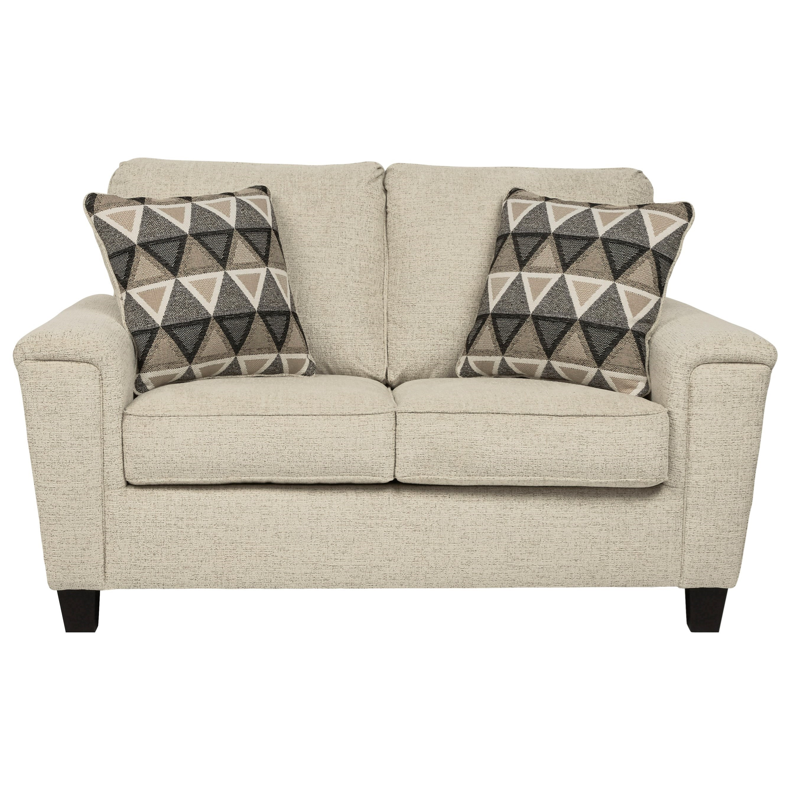 Signature Design By Ashley Abinger Contemporary Loveseat Wayside Furniture Loveseats
