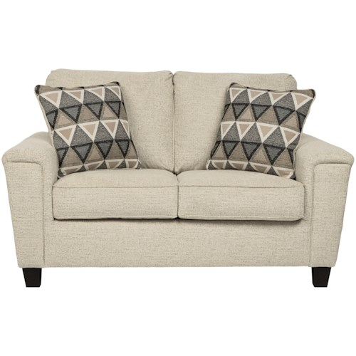 Signature Design by Ashley Abinger Contemporary Loveseat