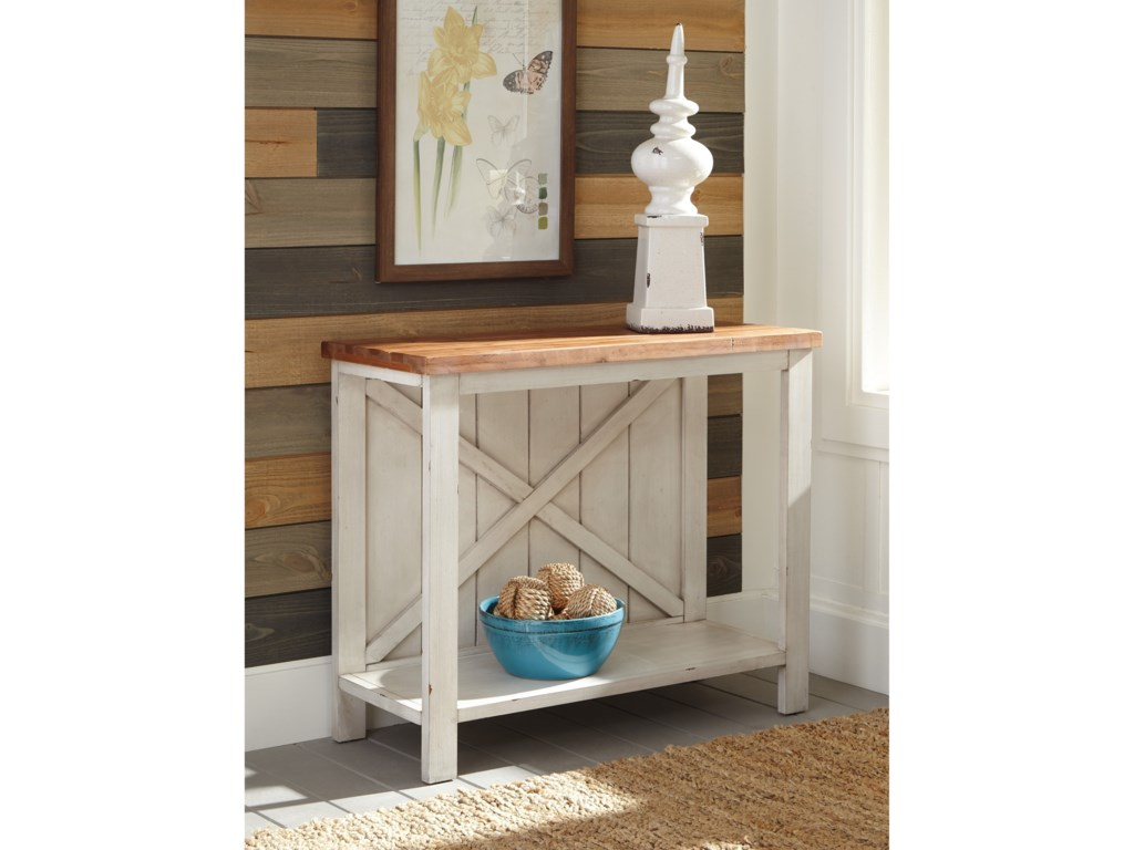 Signature Design AbramslandConsole Sofa Table