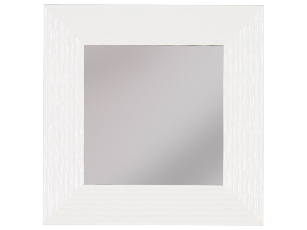 Ashley (Signature Design) Accent MirrorsOdelyn White Wall Mirror