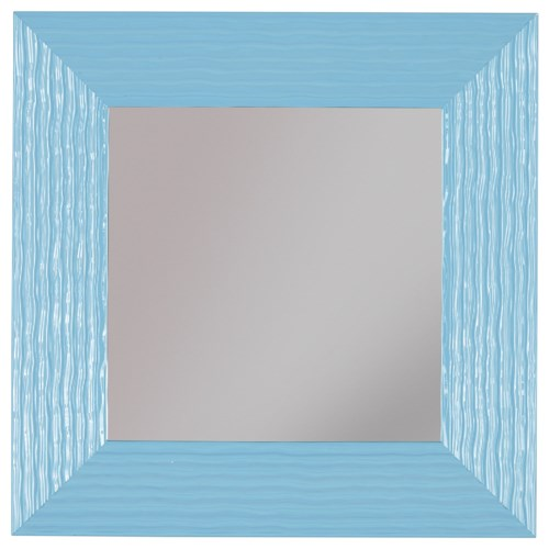 Signature Design by Ashley Furniture Accent Mirrors Odelyn Aqua Wall Mirror