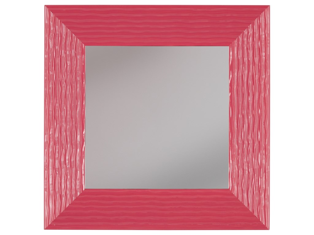 Signature Design by Ashley Accent MirrorsOdelyn Fuchsia Wall Mirror
