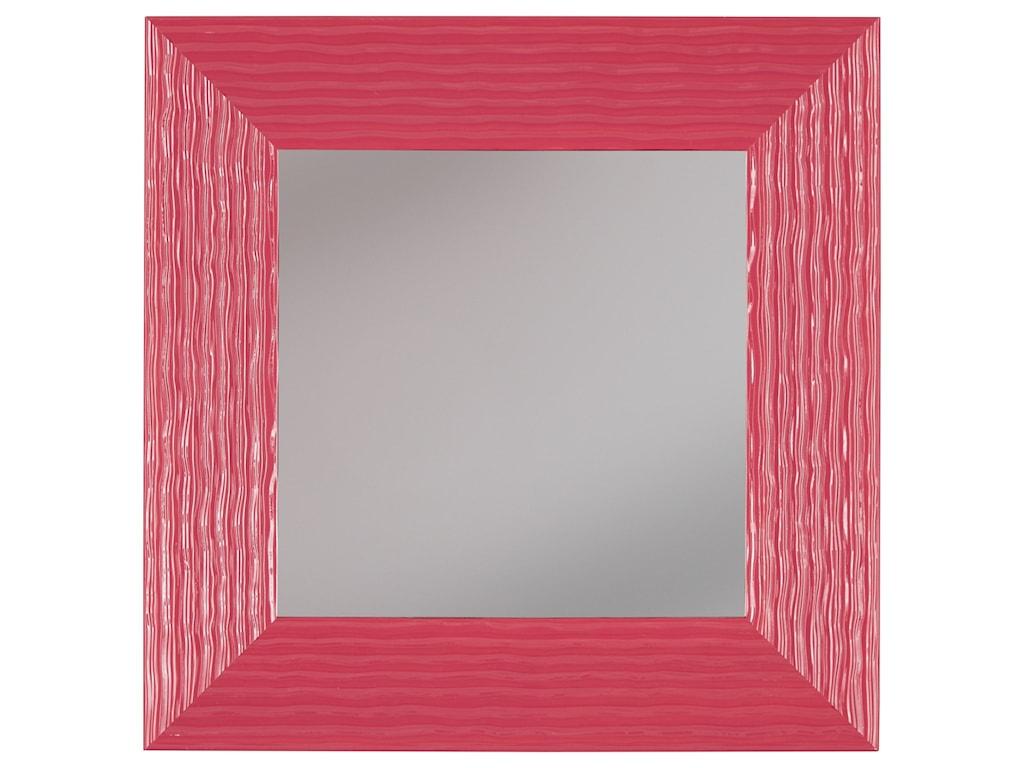 Ashley (Signature Design) Accent MirrorsOdelyn Fuchsia Wall Mirror