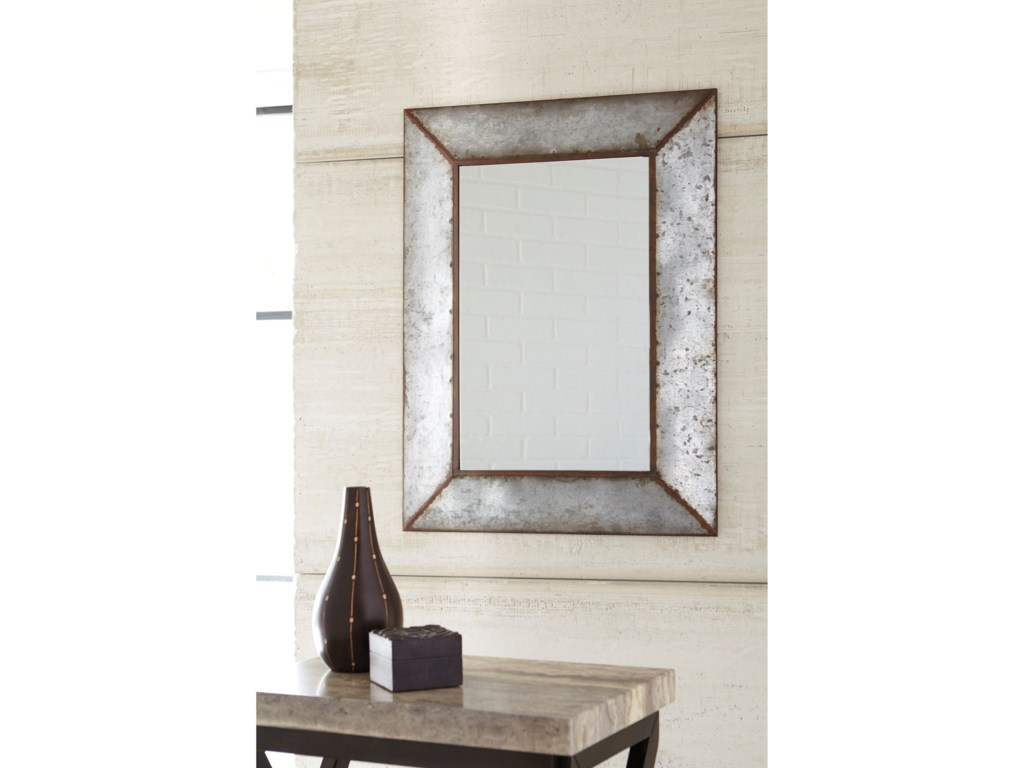 Signature Design by Ashley Accent MirrorsO'Tallay Antique Gray Accent Mirror