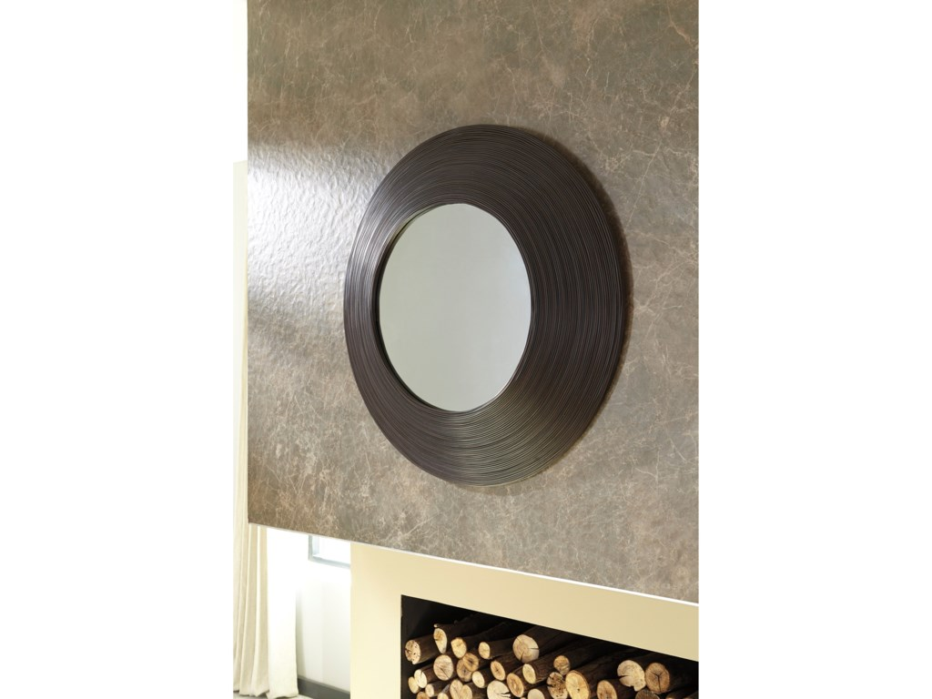Signature Design by Ashley Accent MirrorsOdeletta Brown Accent Mirror