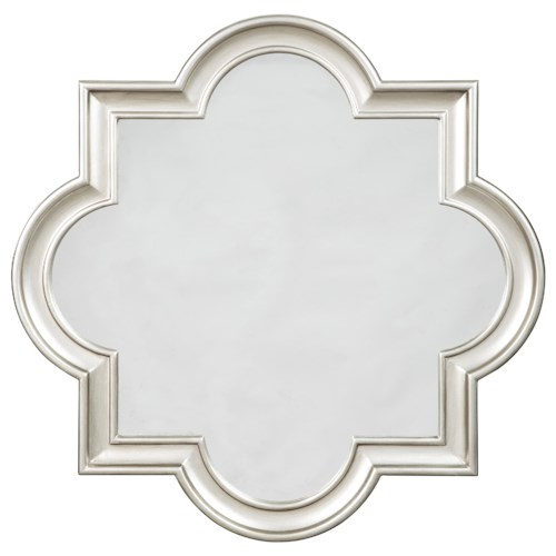 Signature Design by Ashley Furniture Accent Mirrors Desma Gold Finish Accent Mirror