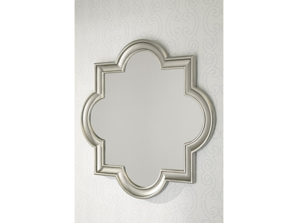 Ashley (Signature Design) Accent MirrorsDesma Gold Finish Accent Mirror