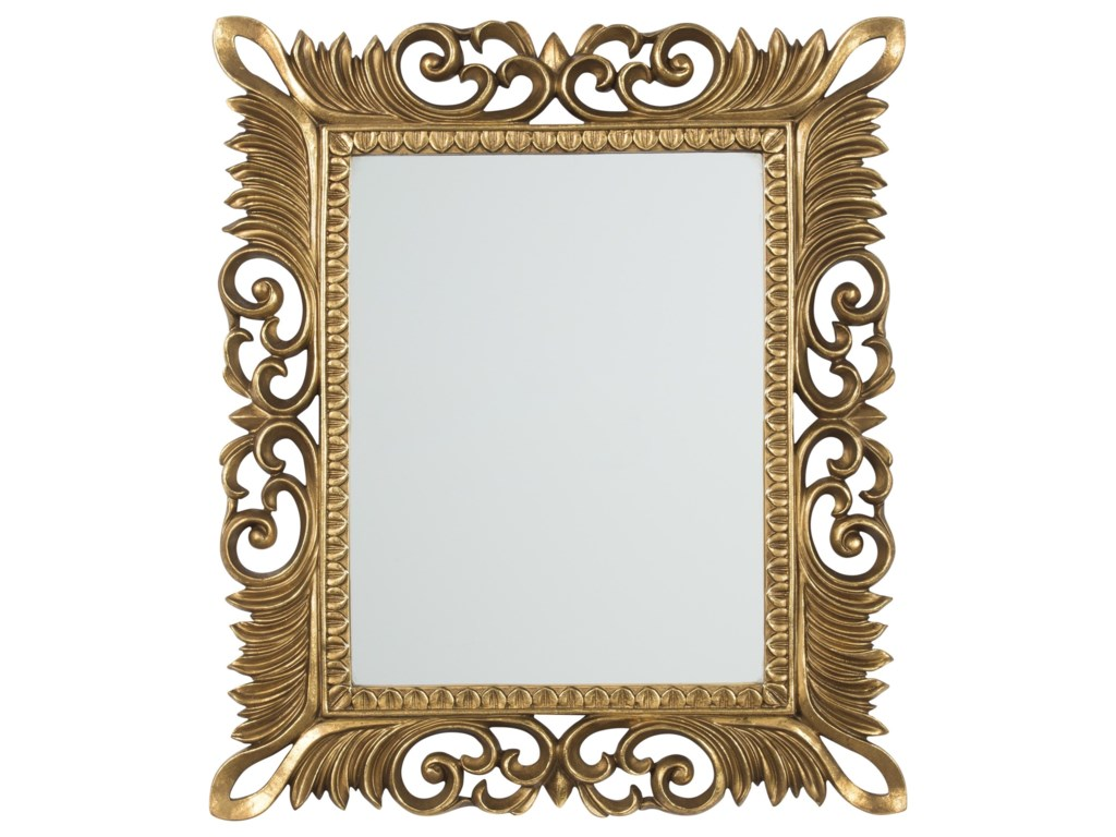 Signature Design by Ashley Accent MirrorsDenisha Antique Gold Finish Accent Mirror