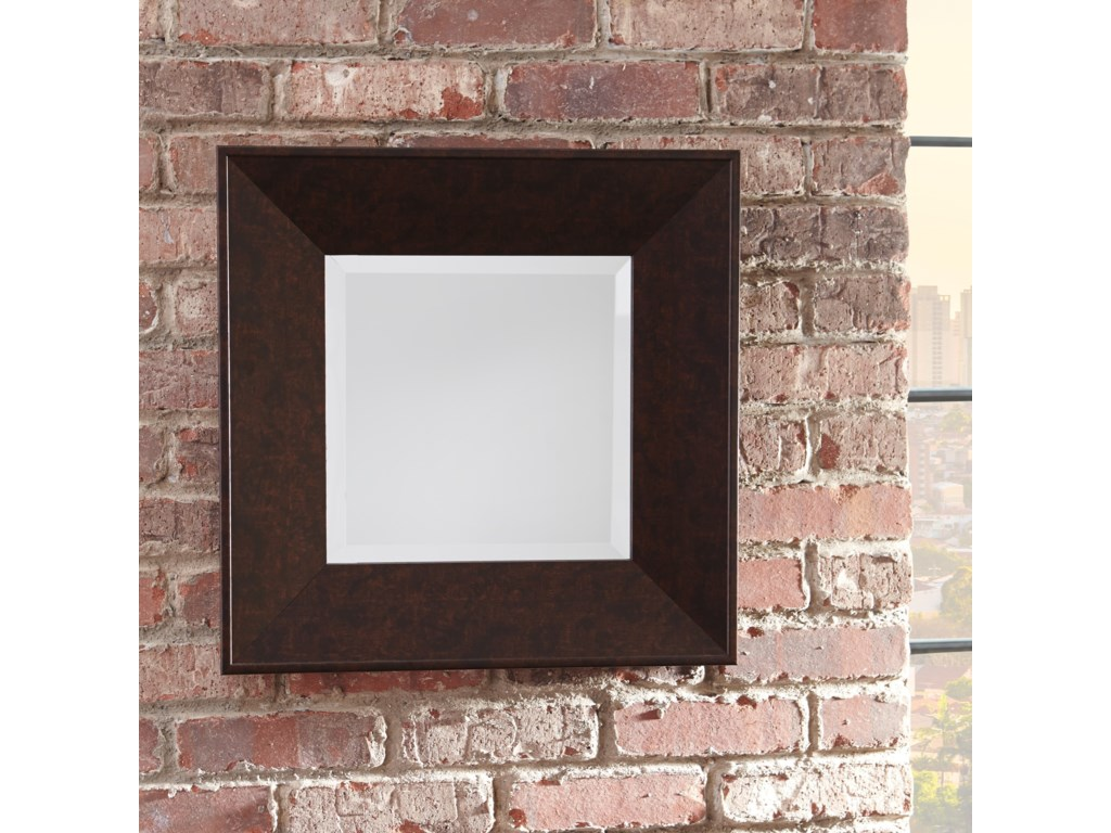 Signature Design by Ashley Accent MirrorsDuha Brown Accent Mirror
