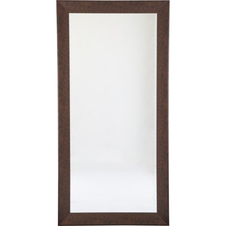 Duha Brown Accent Mirror