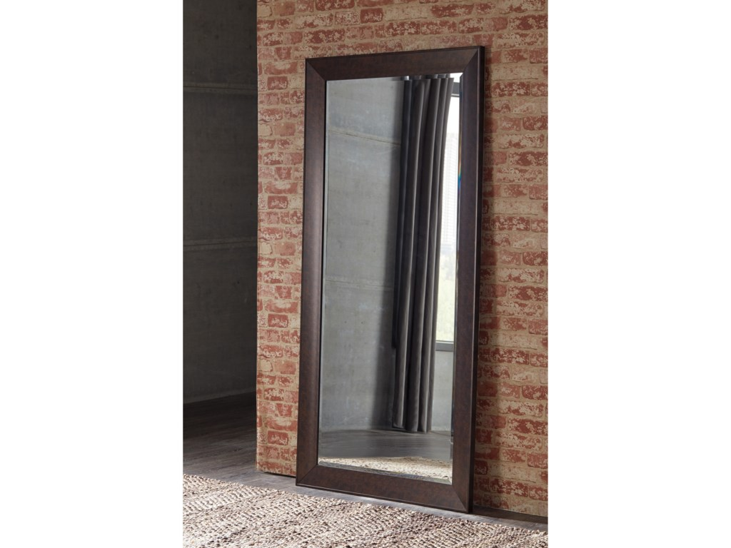 Ashley (Signature Design) Accent MirrorsDuha Brown Accent Mirror