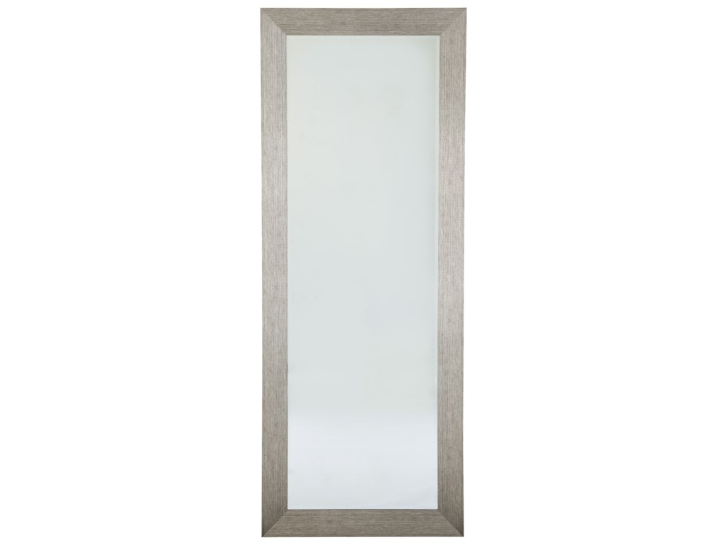 Ashley Signature Design Accent MirrorsDuka Silver Finish Accent Mirror