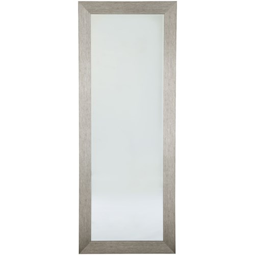 Signature Design by Ashley Accent Mirrors Duka Silver Finish Accent Mirror