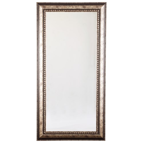 Signature Design by Ashley Accent Mirrors Dulal Antique Silver Finish Accent Mirror