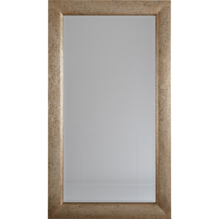 Evynne Antique Gold Finish Accent Mirror