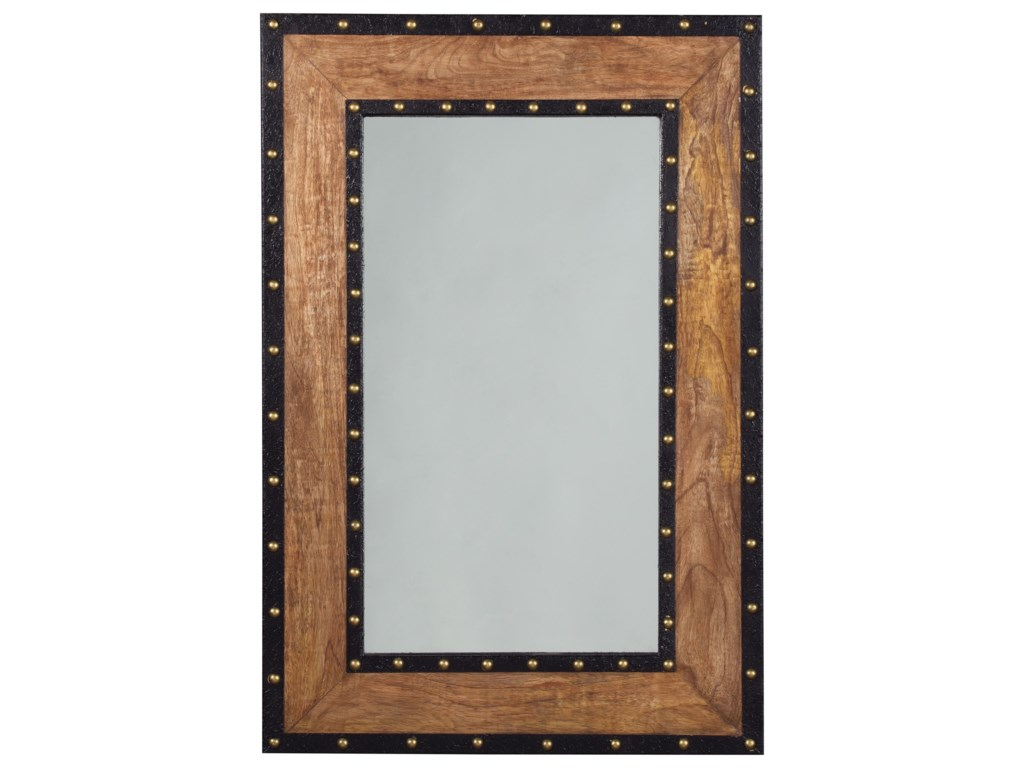 Signature Design by Ashley Accent MirrorsDulcina Natural Finish Accent Mirror