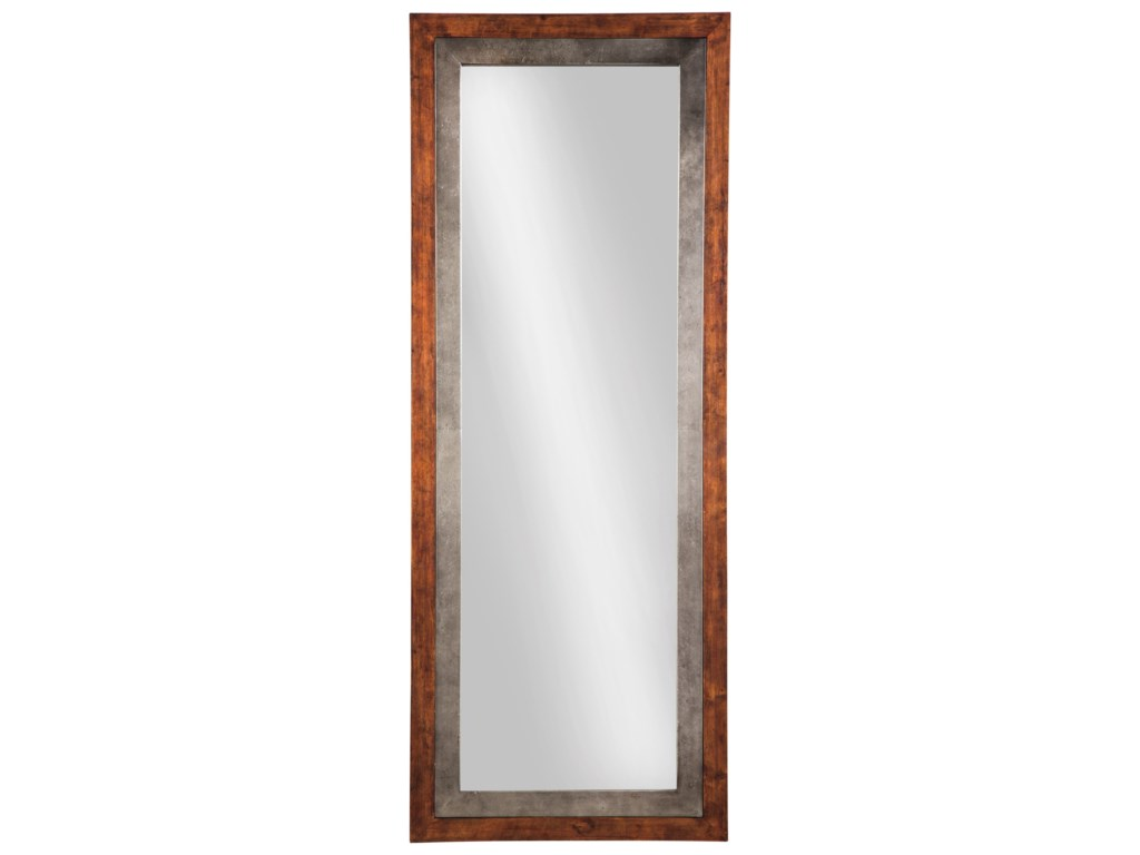 Signature Design by Ashley Accent MirrorsNiah Brown/Silver Finish Accent Mirror
