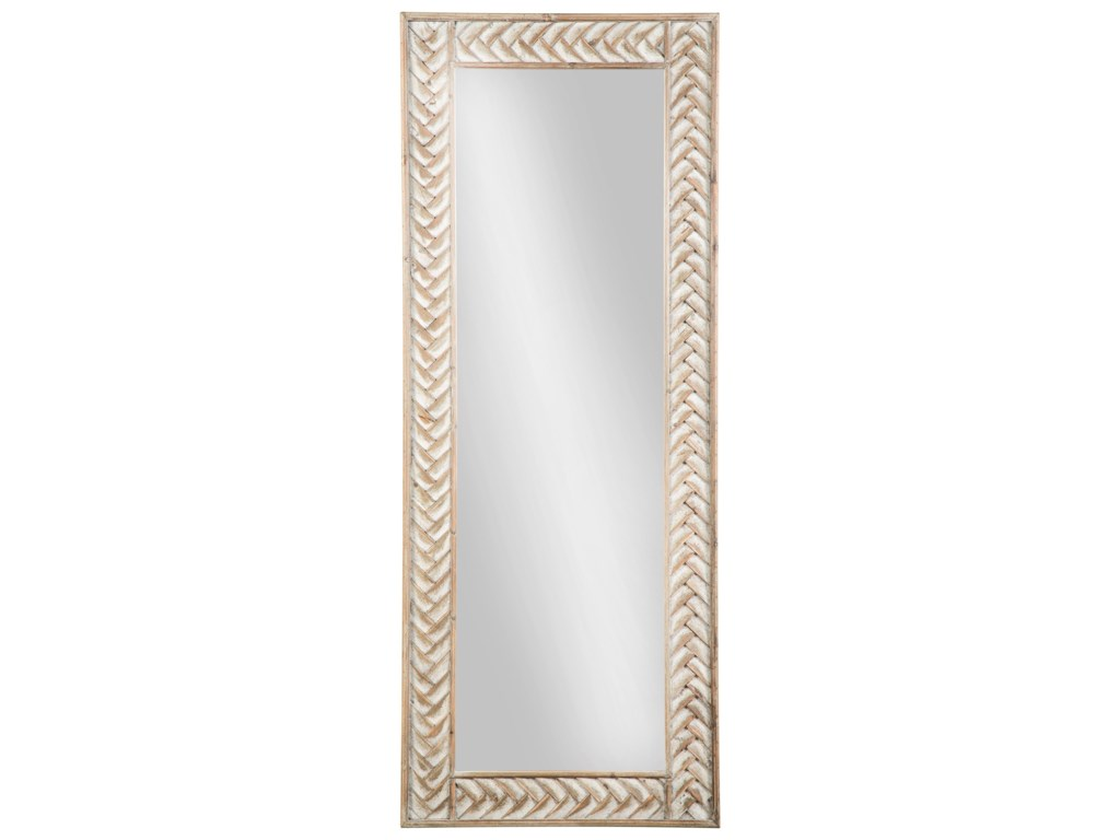Signature Design by Ashley Accent MirrorsNash Natural Accent Mirror
