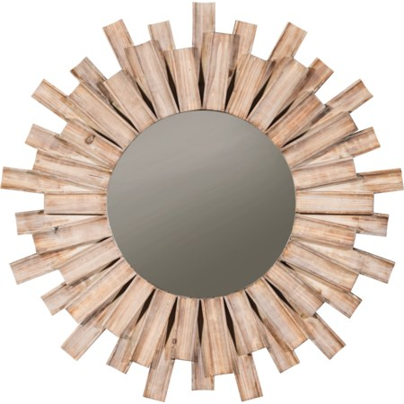 Donata Natural Accent Mirror