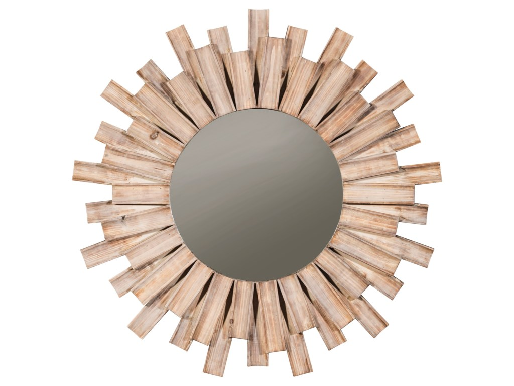 Ashley Signature Design Accent MirrorsDonata Natural Accent Mirror