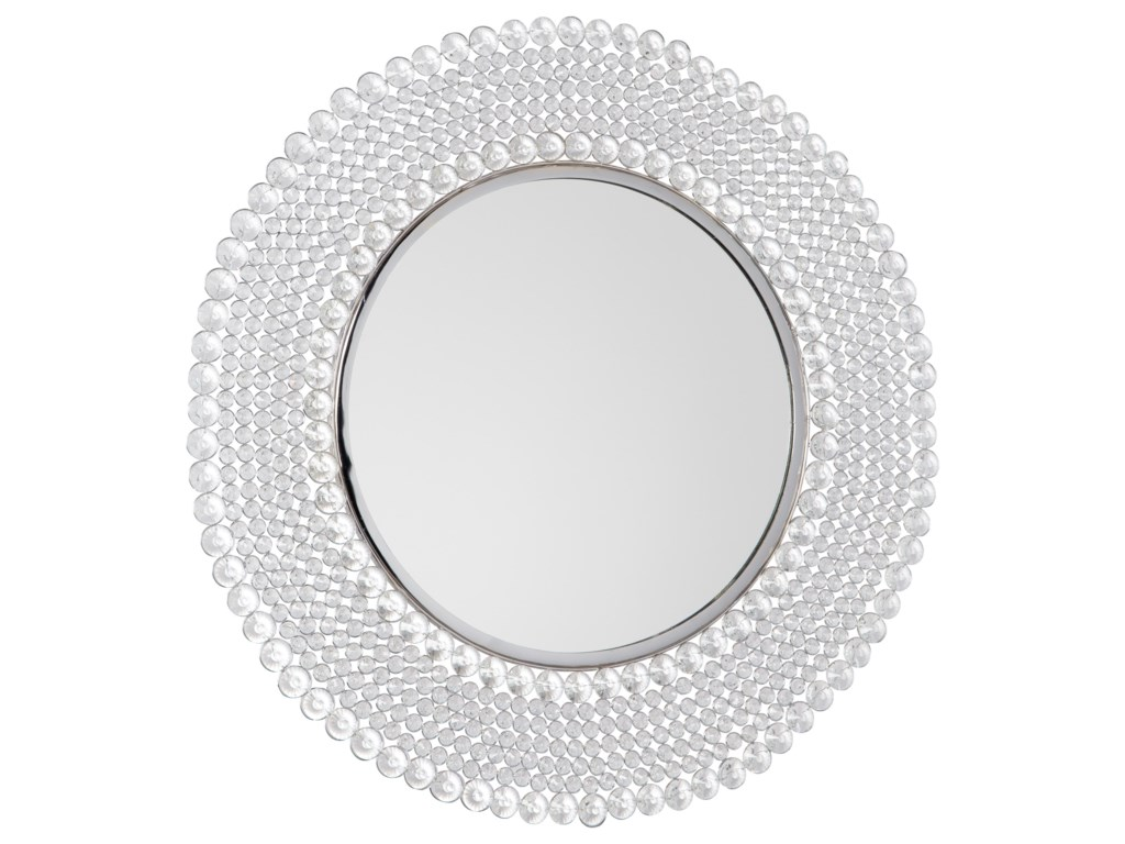 Ashley Signature Design Accent MirrorsMarly Clear/Silver Finish Accent Mirror