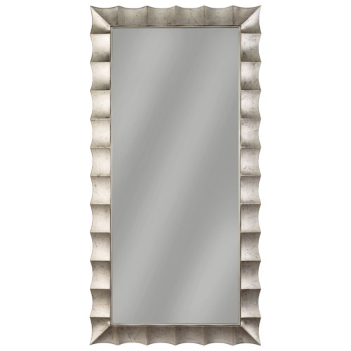 Signature Design by Ashley Accent Mirrors Laasya Antique Silver Finish Accent Mirror