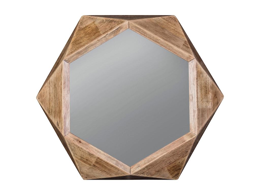 Ashley (Signature Design) Accent MirrorsCorin Natural Accent Mirror