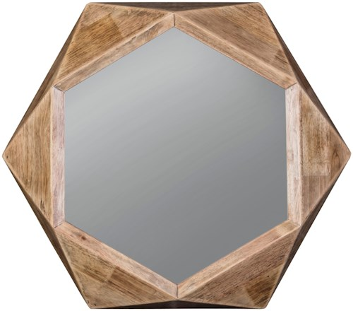 Signature Design by Ashley Accent Mirrors Corin Natural Accent Mirror