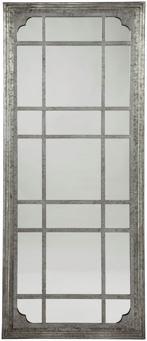 Signature Design by Ashley Accent Mirrors Remy Antique Gray Accent Mirror