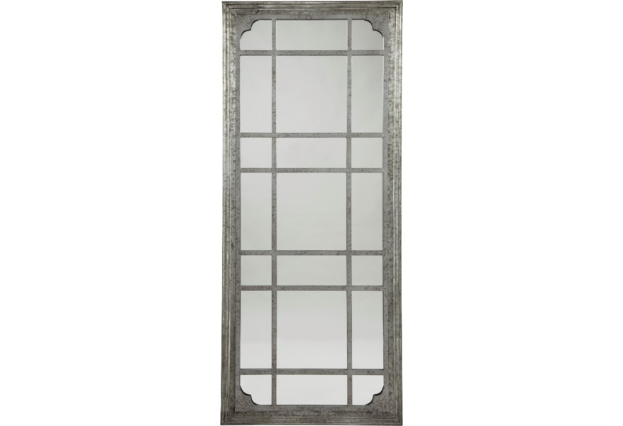 Vendor 3 Accent Mirrors A8010131 Remy Antique Gray Accent Mirror Becker Furniture Floor Mirrors