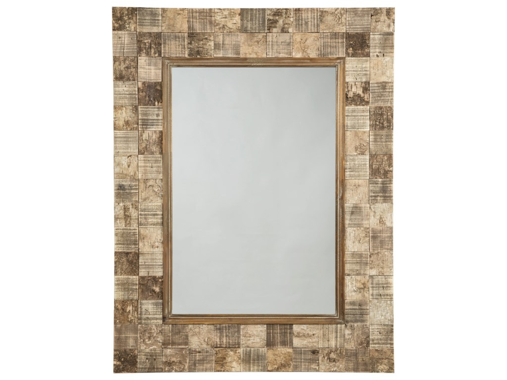 Signature Design by Ashley Accent MirrorsIvanna Brown Accent Mirror