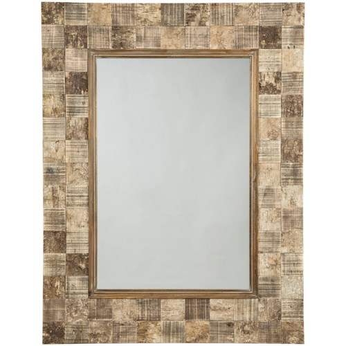Signature Design by Ashley Accent Mirrors Ivanna Brown Accent Mirror