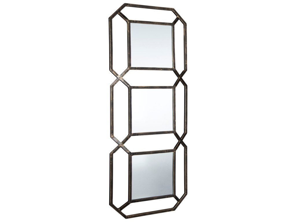 Signature Design by Ashley Accent MirrorsSavane Antique Gold Finish Accent Mirror
