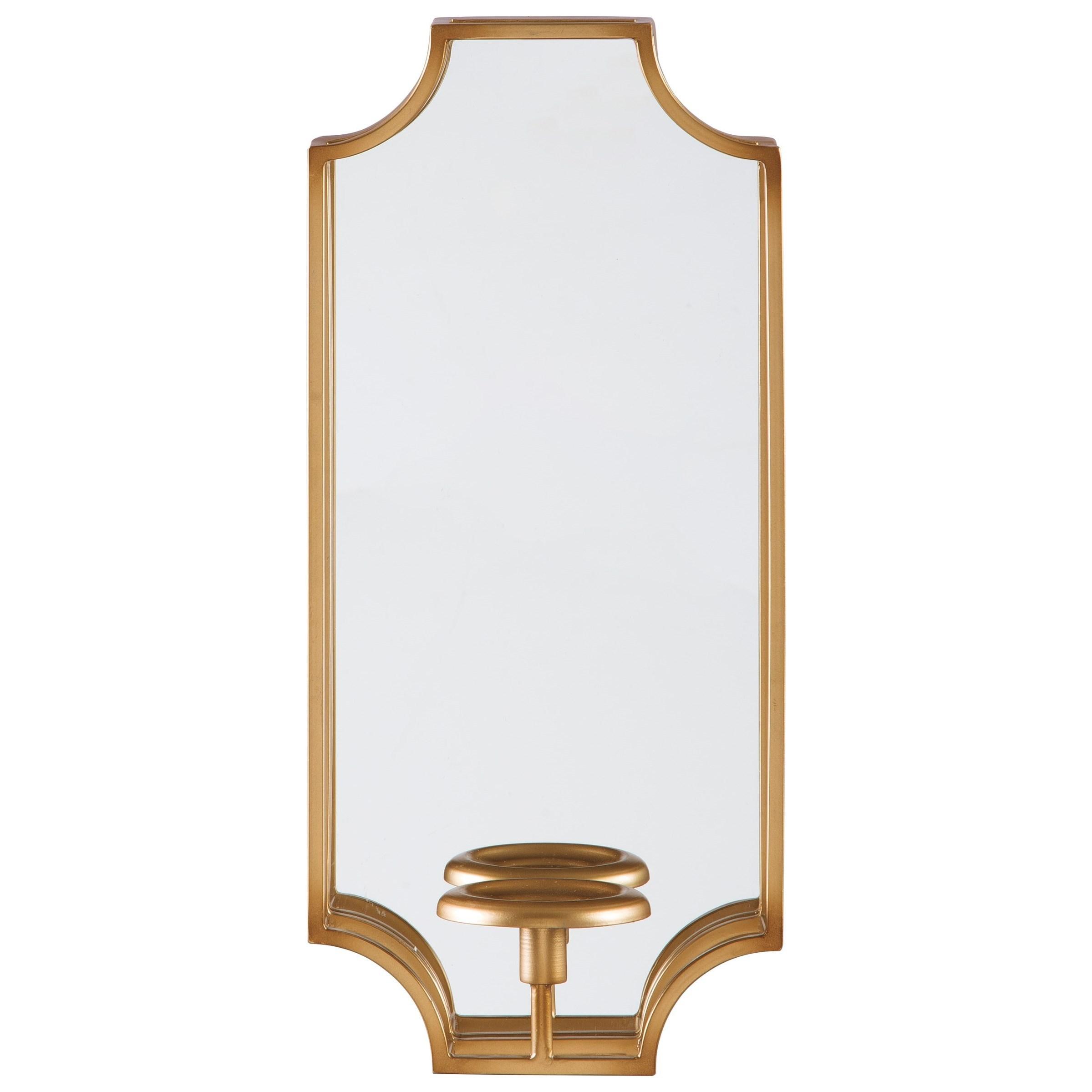 Dumi Gold Finish Wall Sconce/Mirror